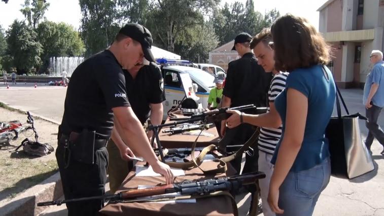 Житомирські поліцейські відсвяткували два роки роботи