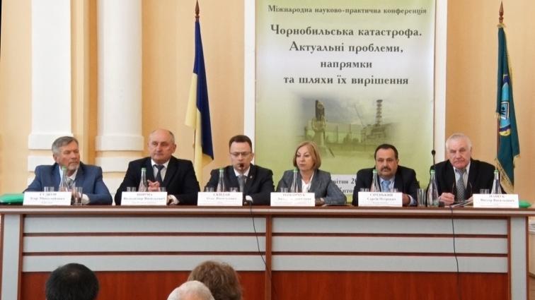 Наукові дослідження Чорнобильської катастрофи актуальні 32 роки по тому