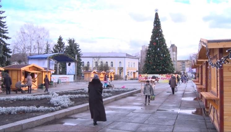 Підготовка Житомира до зимових свят