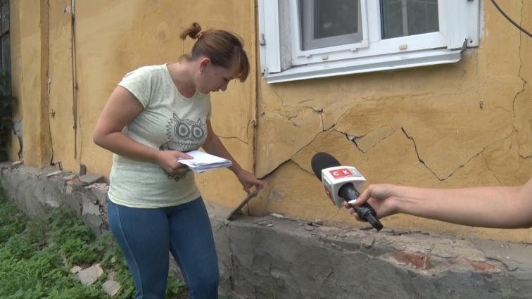 Житомирянискаржаться, що їхній будинок по вулиціПеремоги, 111 падає