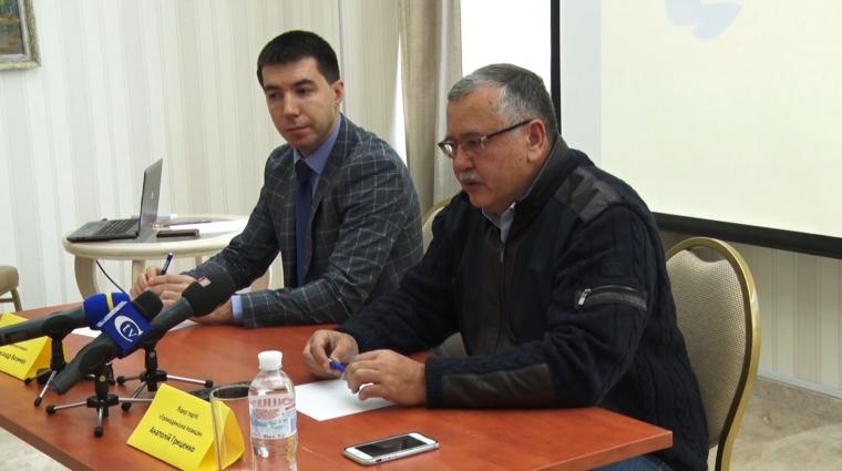 Житомирщину відвідав опозиційний політик Анатолій Гриценко