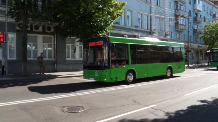 Житомиром почали курсувати 14 нових автобусів