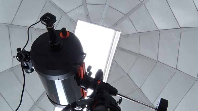В Житомирській школі № 8 відкрили обсерваторію для юних дослідників космосу
