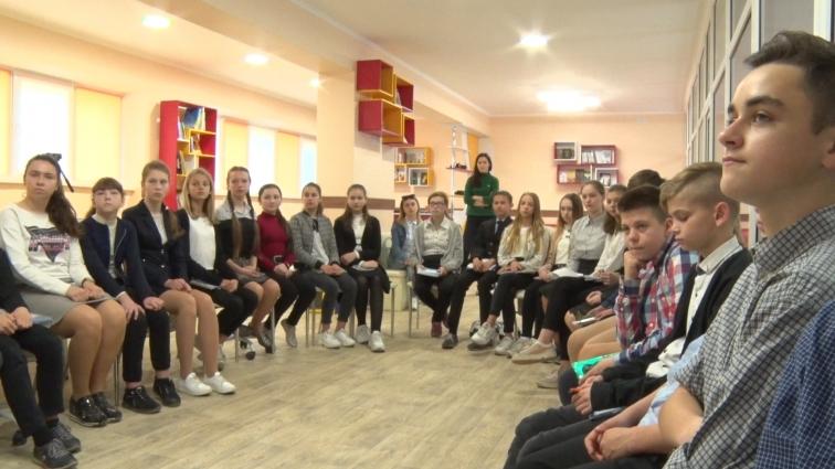 Учні ЗОШ №5 долучилися до онлайн-уроку на тему європейських цінностей