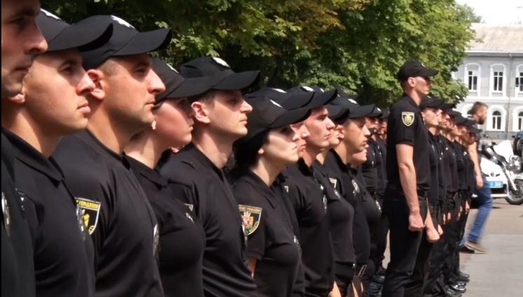 Нові житомирські дільничі та оперативники склали присягу на вірність народу України