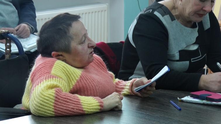 Житомиряни з інвалідністю вимагали вирішення їхніх проблем