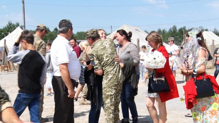 Бійці 30 окремої механізованої бригади повернулися з АТО