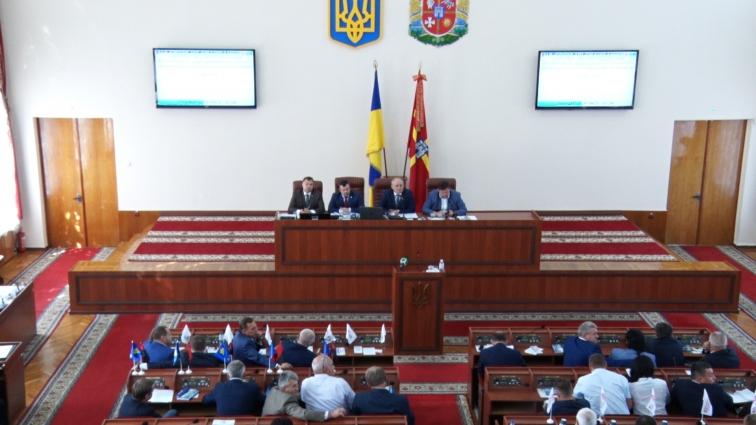 Понад 30 питань розглянули депутати Житомирської облради на позачерговій сесії