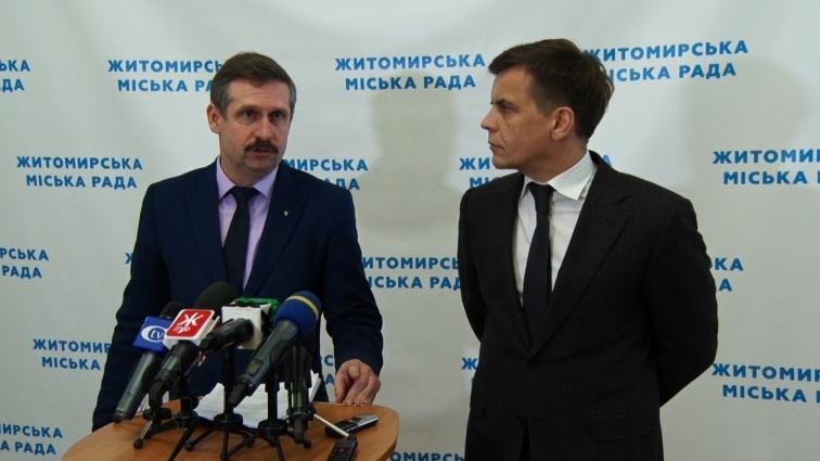 Заступники Житомирського міського голови отримують премії за сумлінне виконання своїх посадових обов'язків