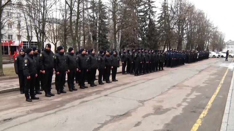 161 правоохоронець присягнув на вірність українському народу