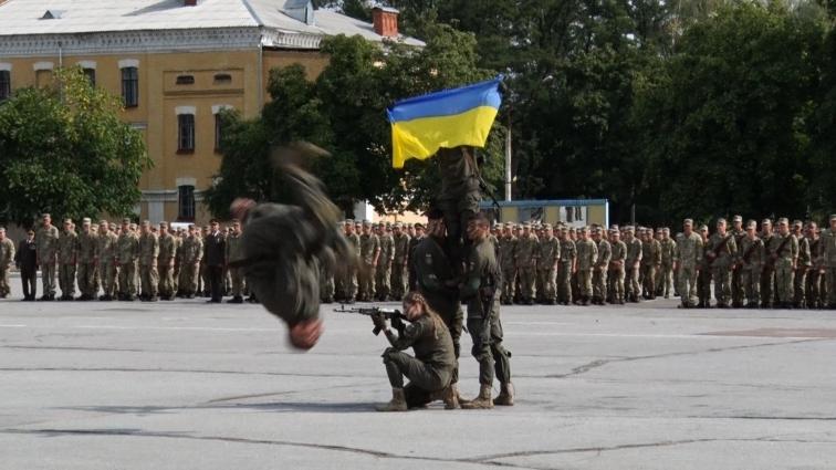 У ЖВІ імені Корольова відбулась урочиста присяга на вірність Україні