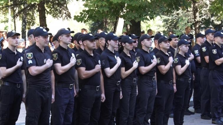 У Житомирі нові поліцейські склали присягу