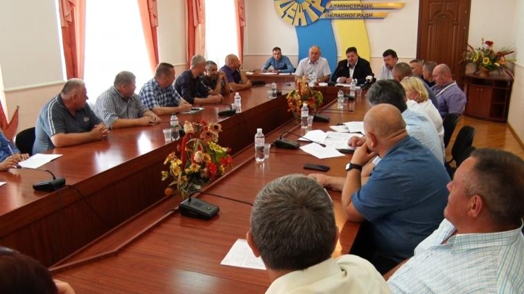 Очільники області обіцяли вирішувати проблеми учасників бойових дій