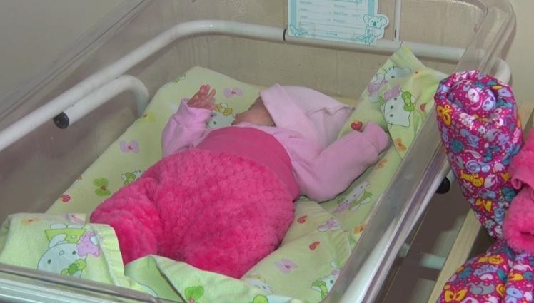 Тримісячна Арінка вже важить 2 кілограми