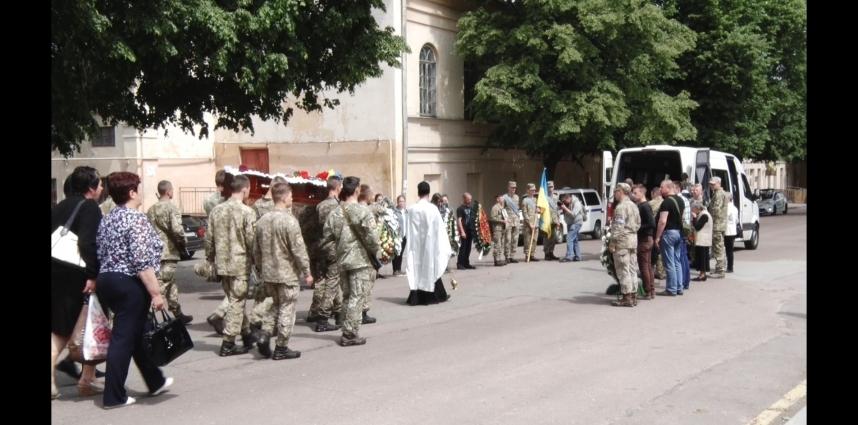 У Житомирі попрощалися з бійцем 95-ї бригади
