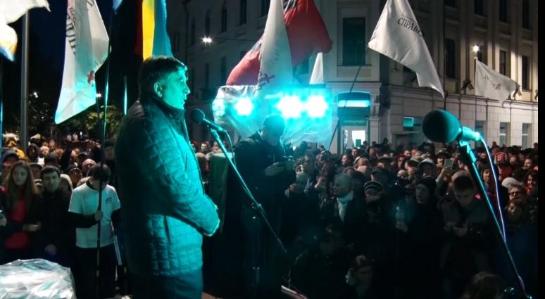 Лідери партій «Рух нових сил» та «Справедливість» спілкувались із житомирянами