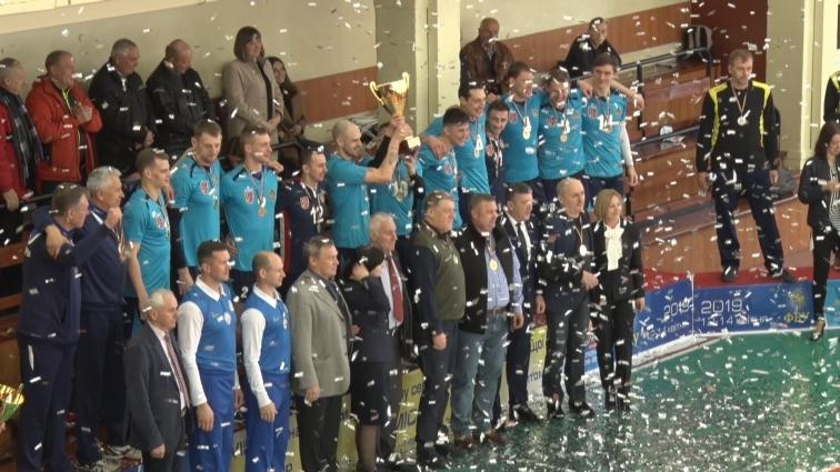 Волейбольний клуб «Житичі» здобув дві перемоги та став чемпіоном Вищої ліги України