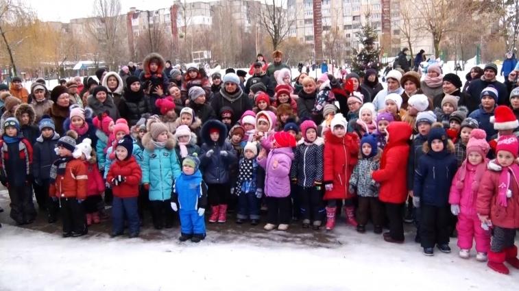 Новорічні гуляння відбулись у мікрорайоні Малікова
