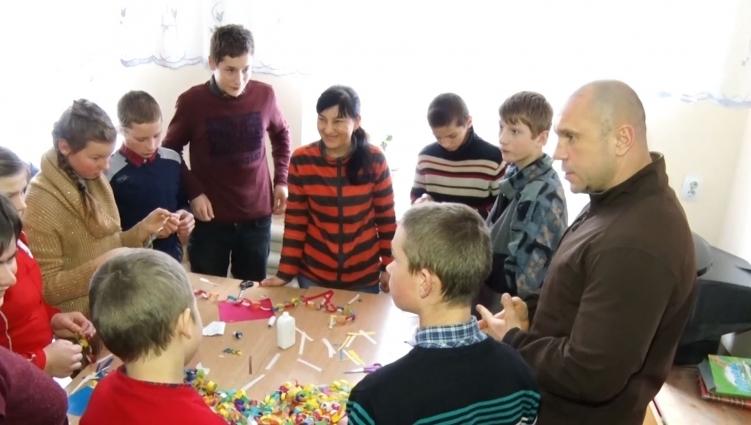 Ілля Кива завітав до Кмитівської школи-інтернату