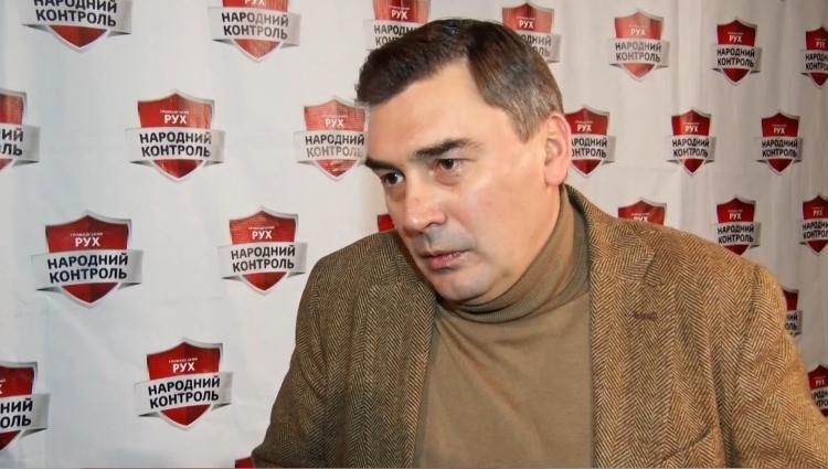 Лідер політичної партії «Народний контроль» зустрівся з житомирянами