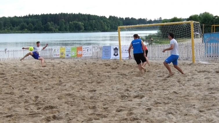 У Житомирі стартував новий сезон Чемпіонату області з пляжного футболу