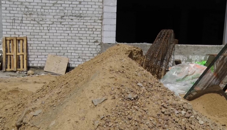 Хід будівельних робіт в житомирській гімназії № 3 тримають в таємниці