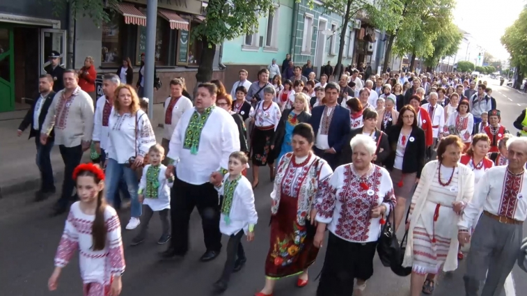 Вишивана хода у Житомирі