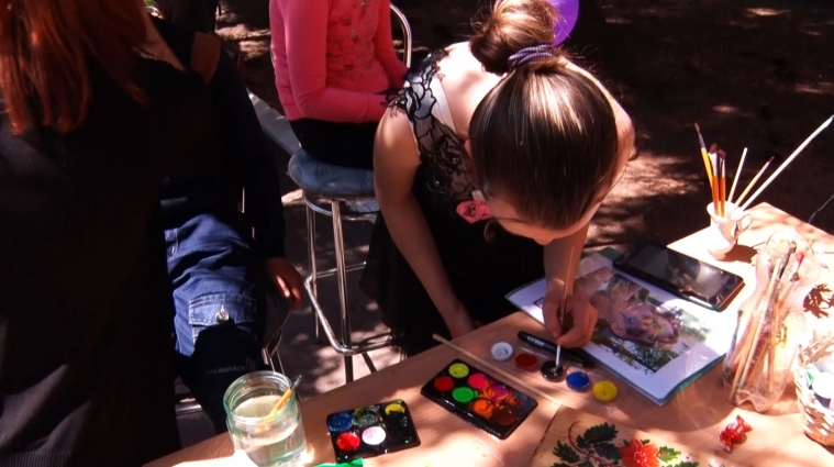 У Житомирському училищі-інтернаті провели «Місто професій» для молоді з особливими потребами