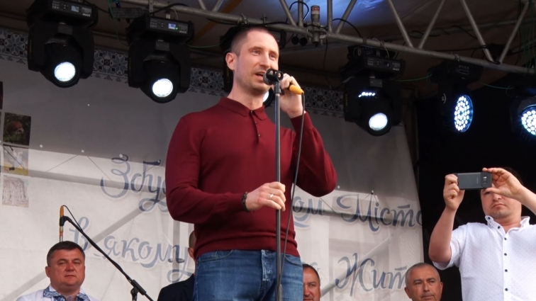 Радикальна партія привітала олевчан з Днем міста