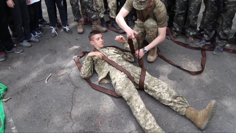 У Житомирі стартувала Всеукраїнська військово-патріотична гра «Джура-десантник»