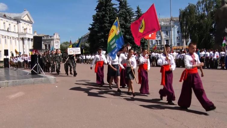 На майдані Корольова відбулося урочисте відкриття змагань «Сокіл» («Джура»)