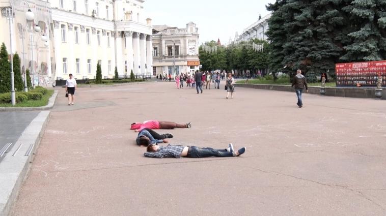 У Житомирі провели «Годину смерті»