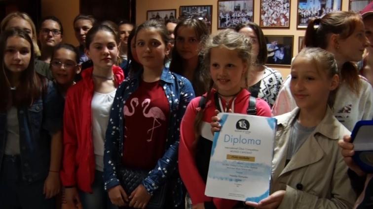 Зразковий дитячий хор «Gloria» здобув перемогу на пісенному конкурсі в Чехії