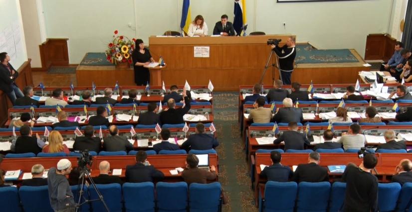 Тривала сесія Житомирської міської ради