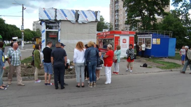 На вулицях Житомира з'являються нові МАФи