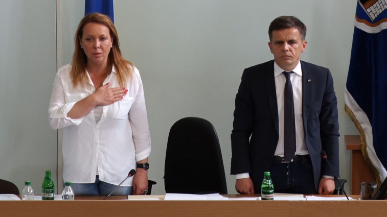 Секретар Житомирської міської ради та начальник Житомирського ВП ГУНП відзвітували про роботу