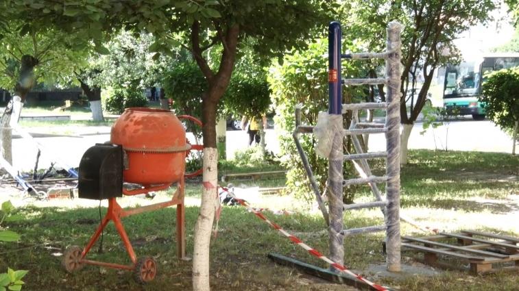 Особливий спортивний майданчик будують у Житомирі