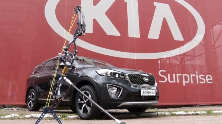 Новий автомобіль Kia Rio презентували в Житомирі