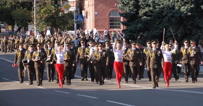 Фестиваль Духових оркестрів «Ми єдині!» відбувся з нагоди Дня міста