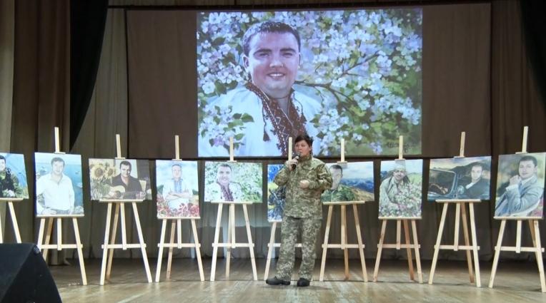 У Житомирі вшанували загиблих у зоні АТО співробітників СБУ