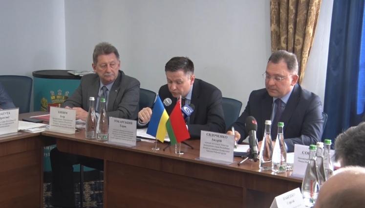 Співпраця України і Білорусії на рівні регіонів