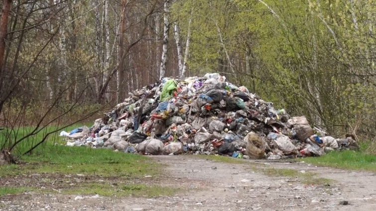У Пулинському районі затримали вантажівку зі сміттям