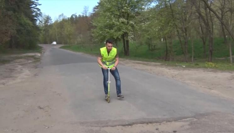 Хроніки ремонтів доріг в Житомирі: Корбутівка