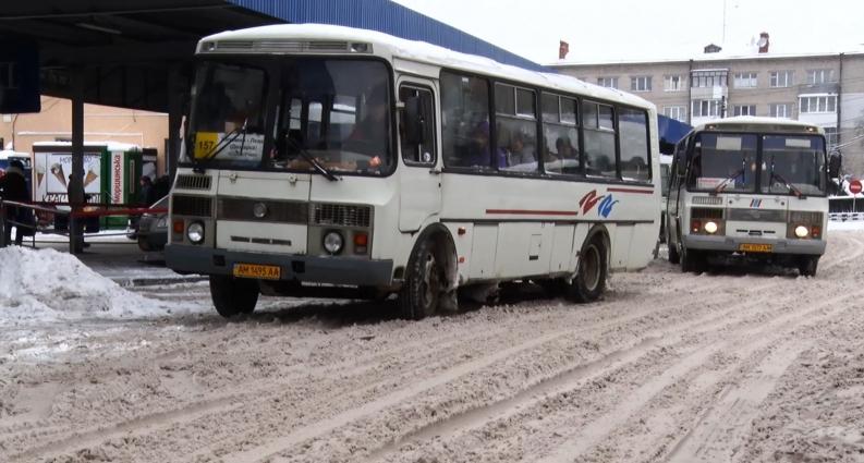 Житомир та область за вихідні замело снігом