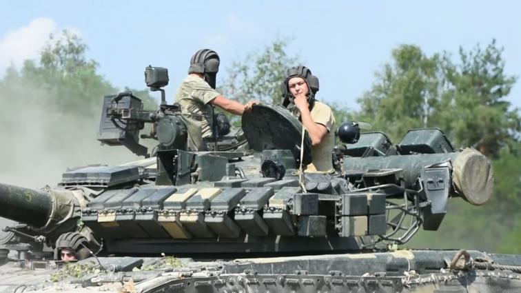 Змагання з танкового біатлону відбулися поблизу Житомира