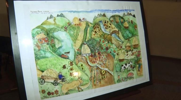 Свій край та дім у малюнках зобразили діти з України та Словаччини