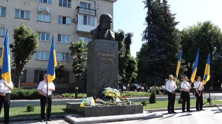 На День Конституції України у Житомирі вшановували пам'ять українських діячів