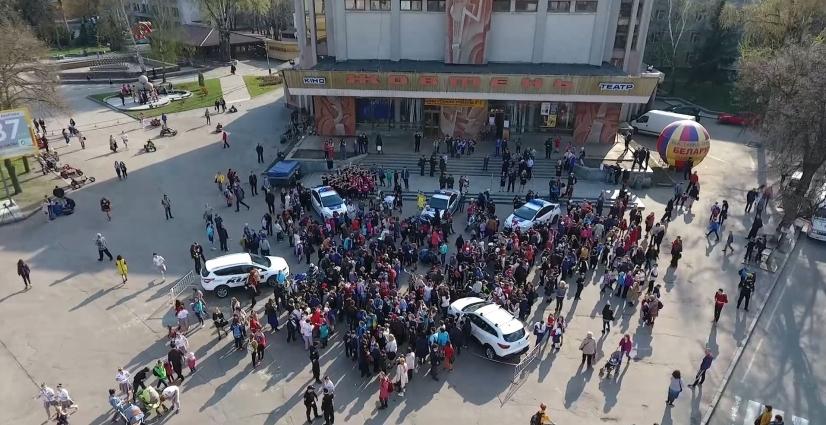 Всеукраїнська акція з безпеки дорожнього руху відбулась у Житомирі
