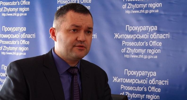 Житомирського чиновника зловили на хабарництві