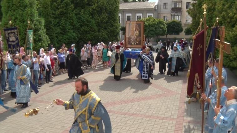 Чудотворна ікона прибула до Житомира